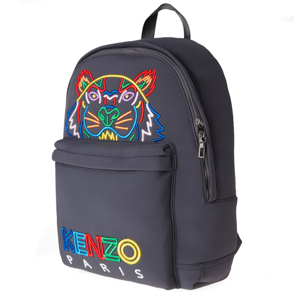 fd82eea3e8f Kenzo Tiger Backpack 'High Summer' Anthracite | END.