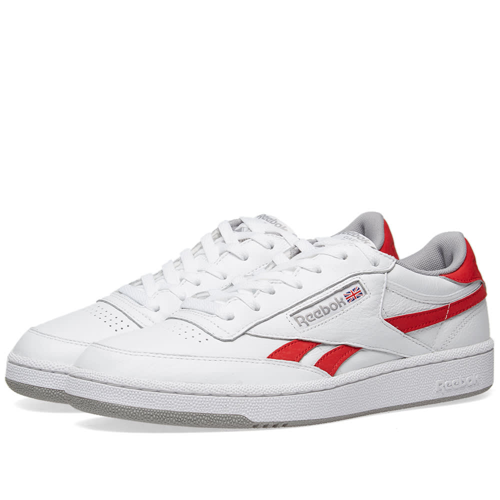 super popular 59608 ced17 Reebok Revenge Plus Vintage White, Primal Red   Tin Grey   END.
