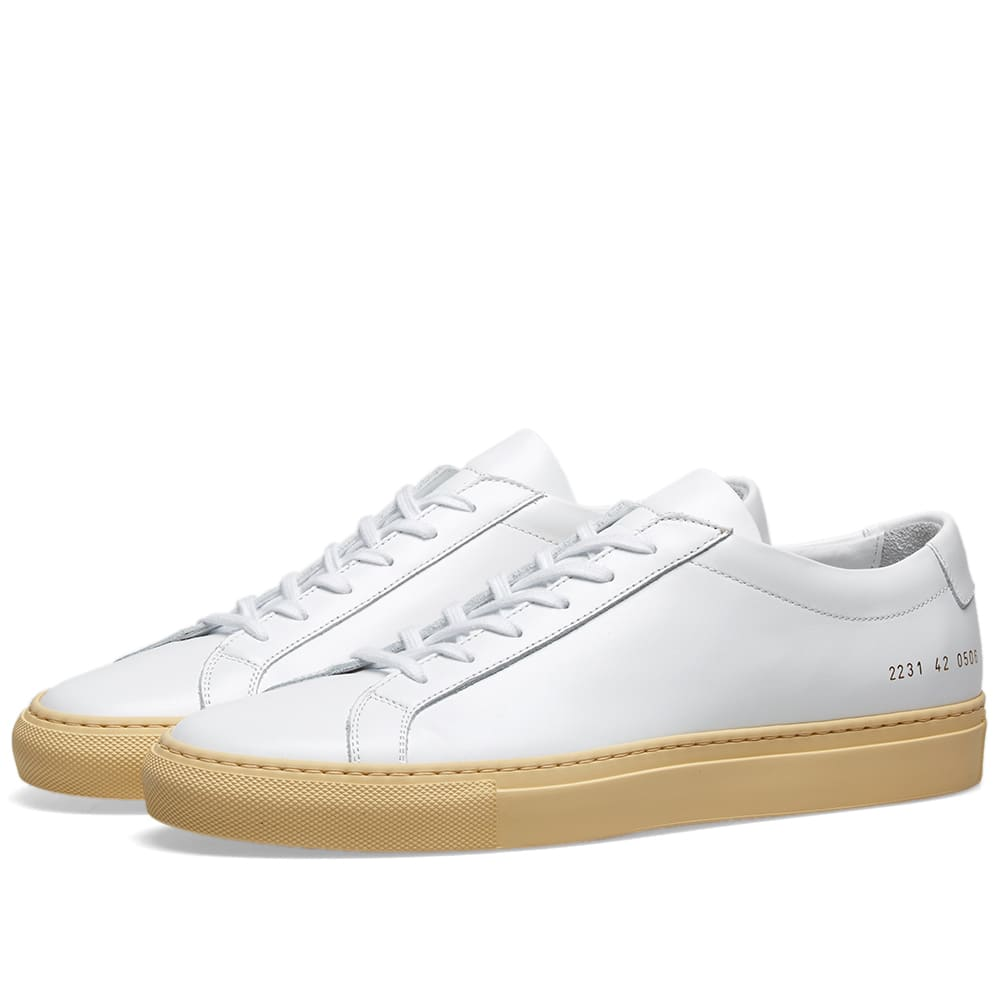 Common Projects Shoes Common Projects Original Achilles Low Vintage Sole