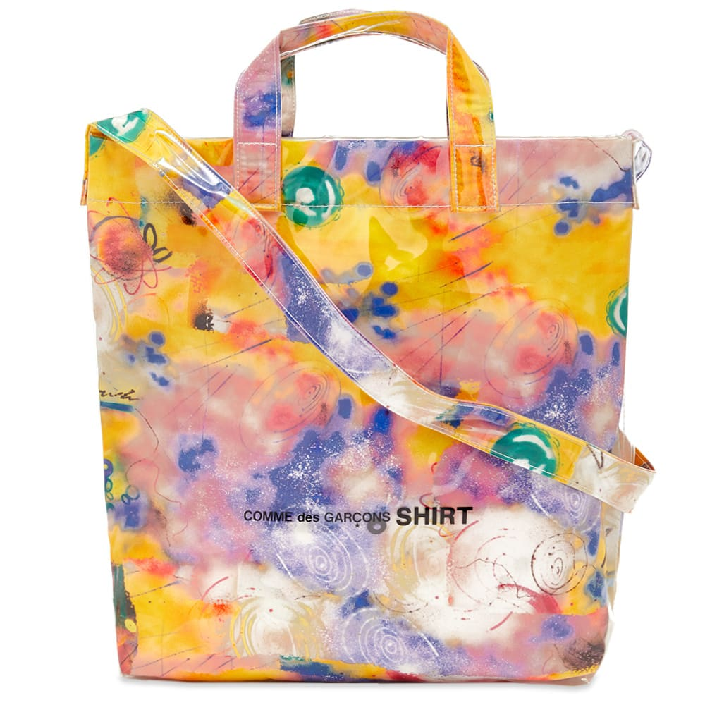 Comme Des Garçons Shirt Comme des Garcons SHIRT Futura Print C Tote Bag