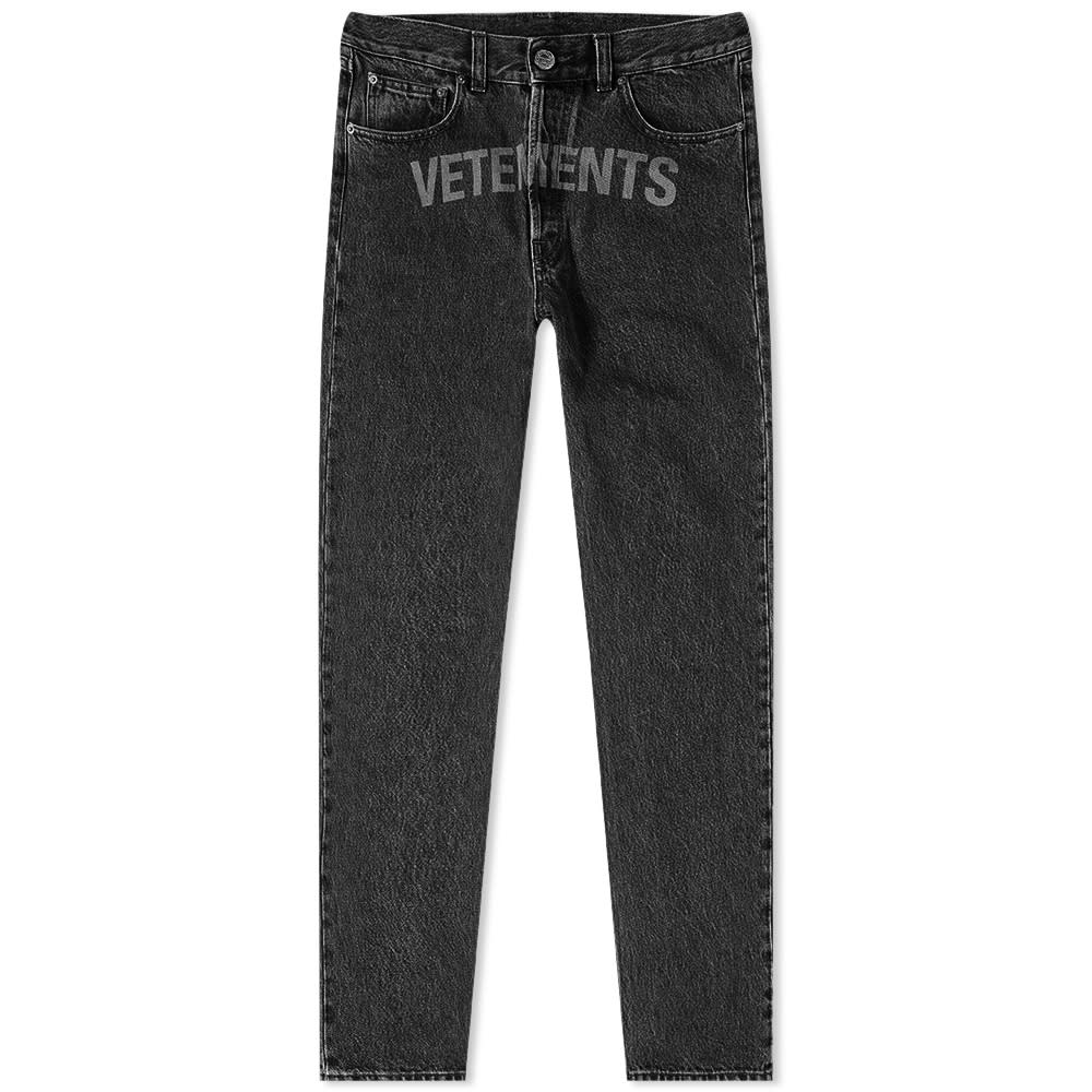 VETEMENTS Laser Jean