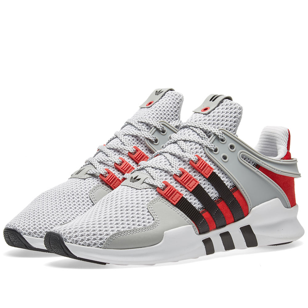Details about Adidas x Overkill EQT Support ADV Coat of Arms Grey Red Black BY2939 LIMITED