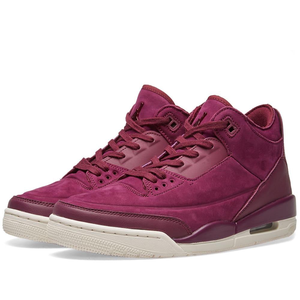 quality design a1bd6 e9f54 ... cheap nike air jordan 3 retro se w purple b16d1 521f1