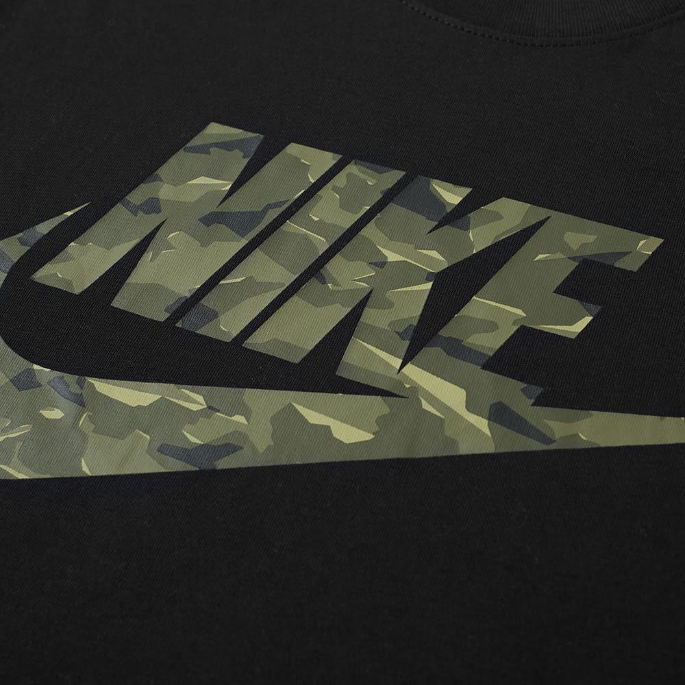 74e3660b Nike Camo Pack 2 Tee Black, Medium Olive & Neutral   END.