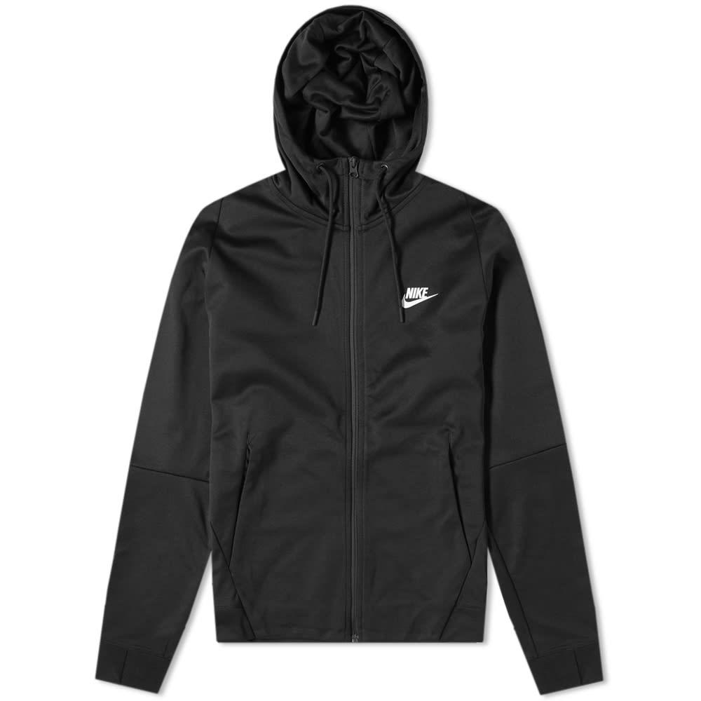1c9590a952d3 Nike Tribute Hooded Jacket Black   White
