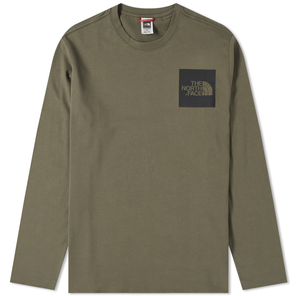 THE NORTH FACE THE NORTH FACE LONG SLEEVE FINE TEE