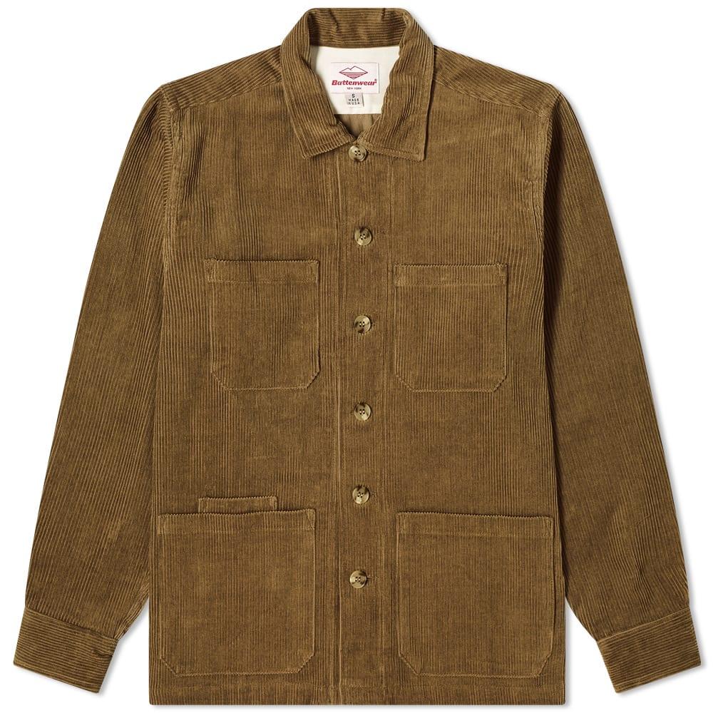 Battenwear 5 Pocket Canyon Shirt In Green