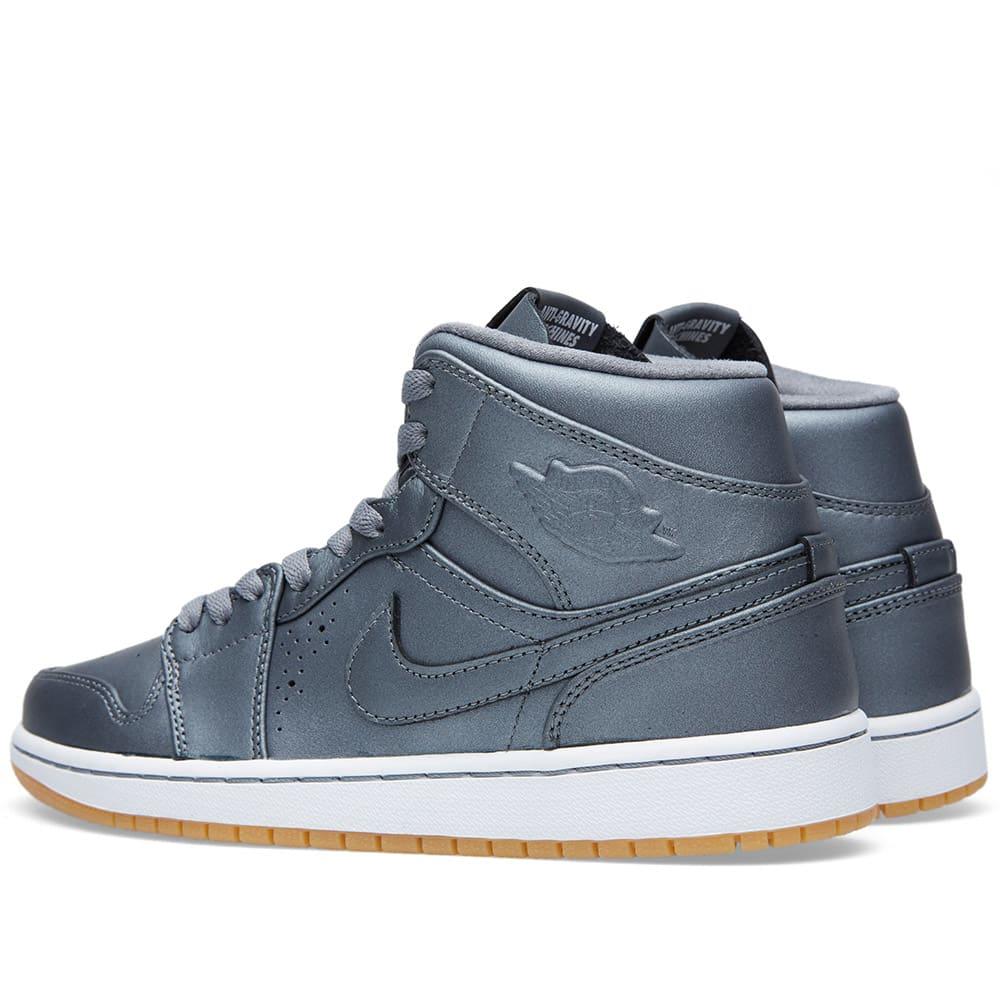 on sale cae1c 5f3e3 Nike Air Jordan 1 Mid Nouveau Cool Grey   END.
