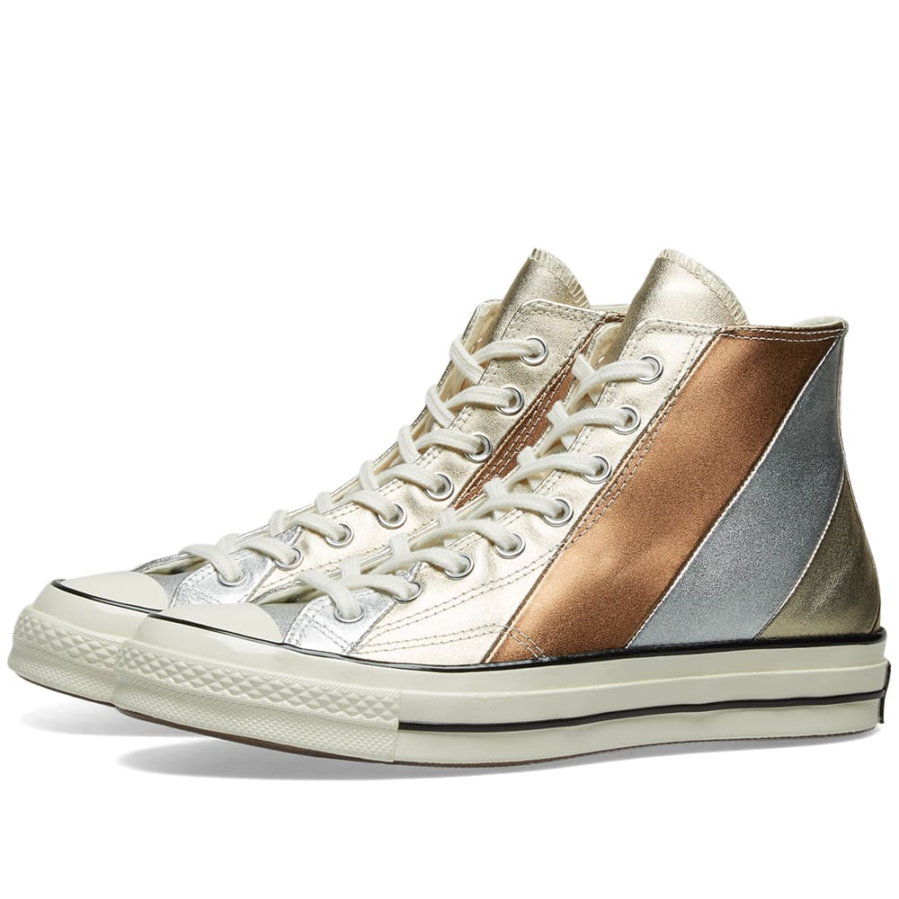 converse high metallic