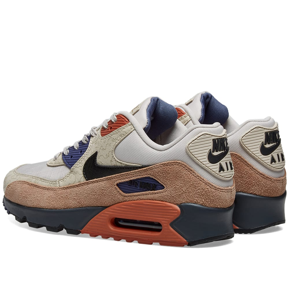 nike air max 90 shoes desert sand black desert dust