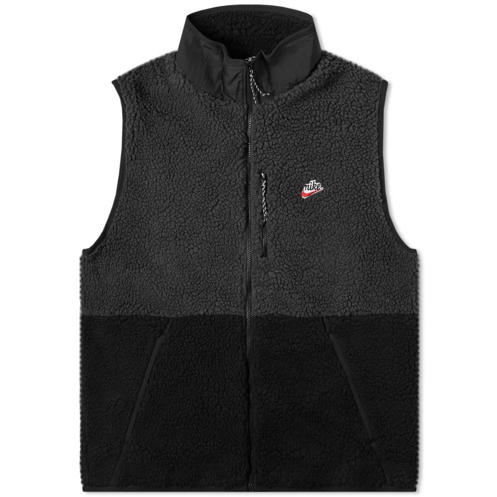 nike fleece noir