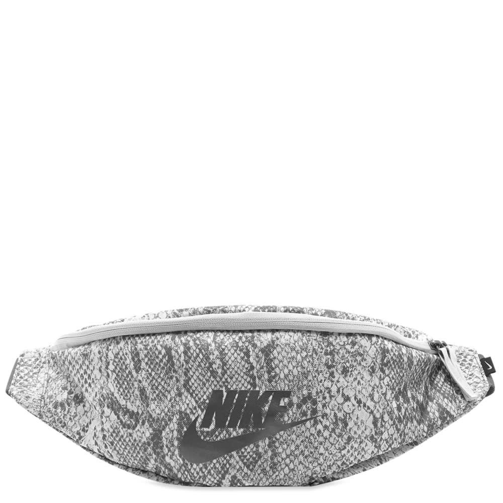 Nike Heritage Hip Pack In Grey