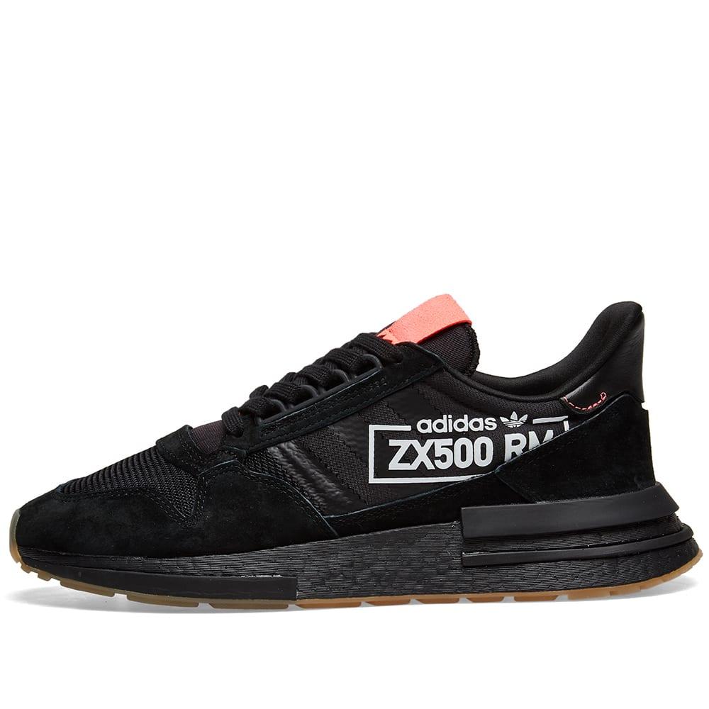 7c51f59a4 Adidas ZX 500 RM Core Black   Bluebird