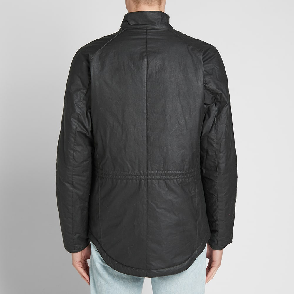 98e39c5773 Barbour International Lever Wax Jacket Sage | END.