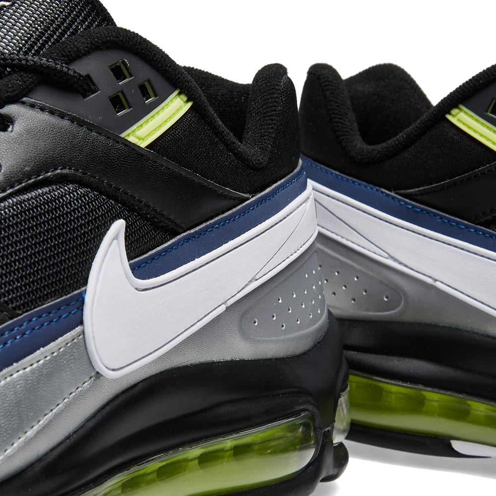 brand new 79ccc 36511 Nike Air Max 97 BW Black, White   Metallic Silver   END.