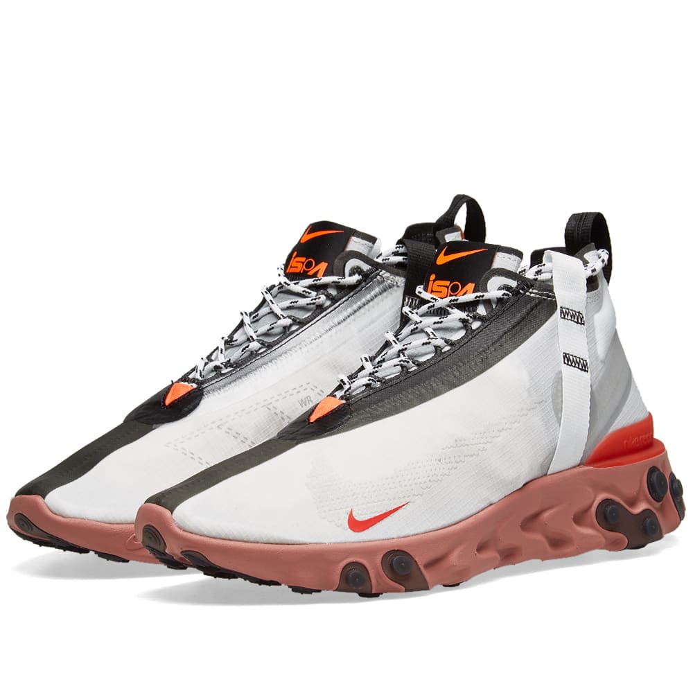 90bbc41bafda5 Nike React Runner Mid WR ISPA Summit White   Off White