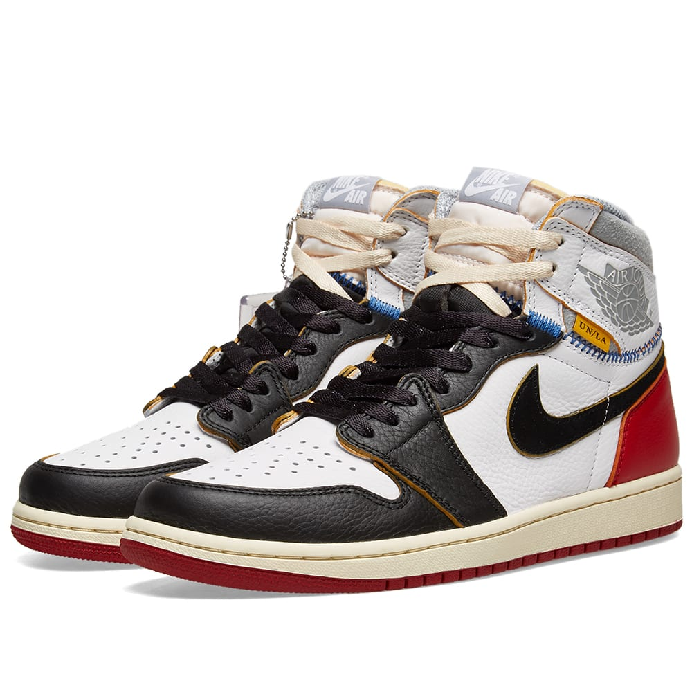 d2b4b11bd0a3a7 Union x Air Jordan 1 Retro High White