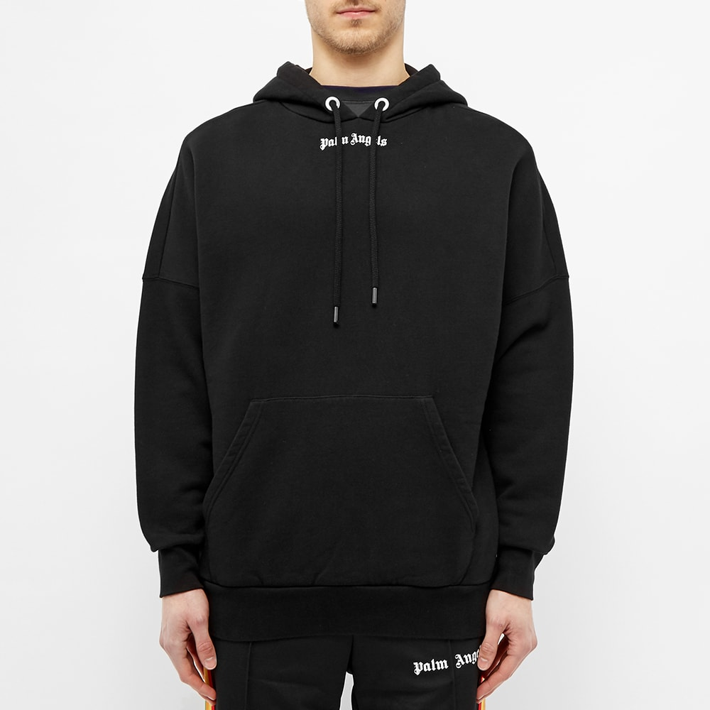 Palm Angels Back Logo Hoody