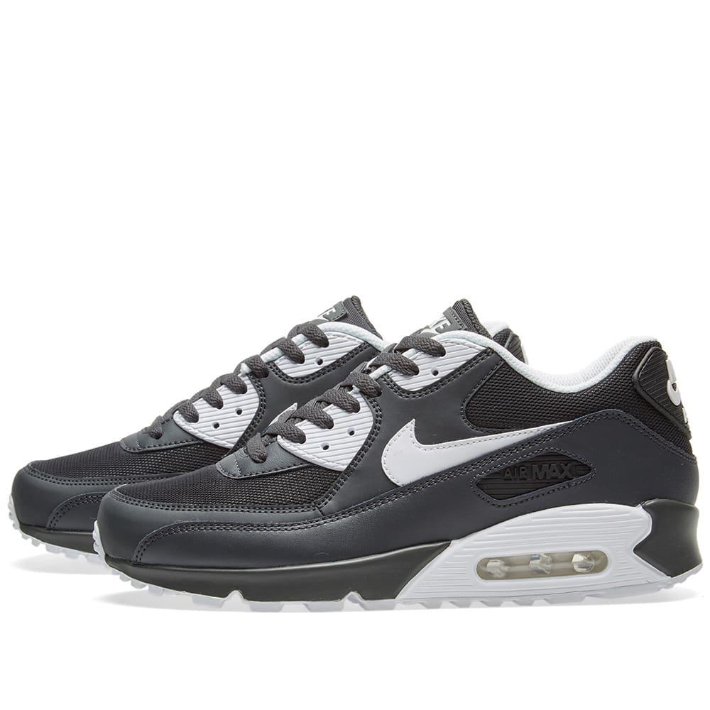 size 40 3e129 5a1e3 Nike Air Max 90 Essential Anthracite, White   Black   END.