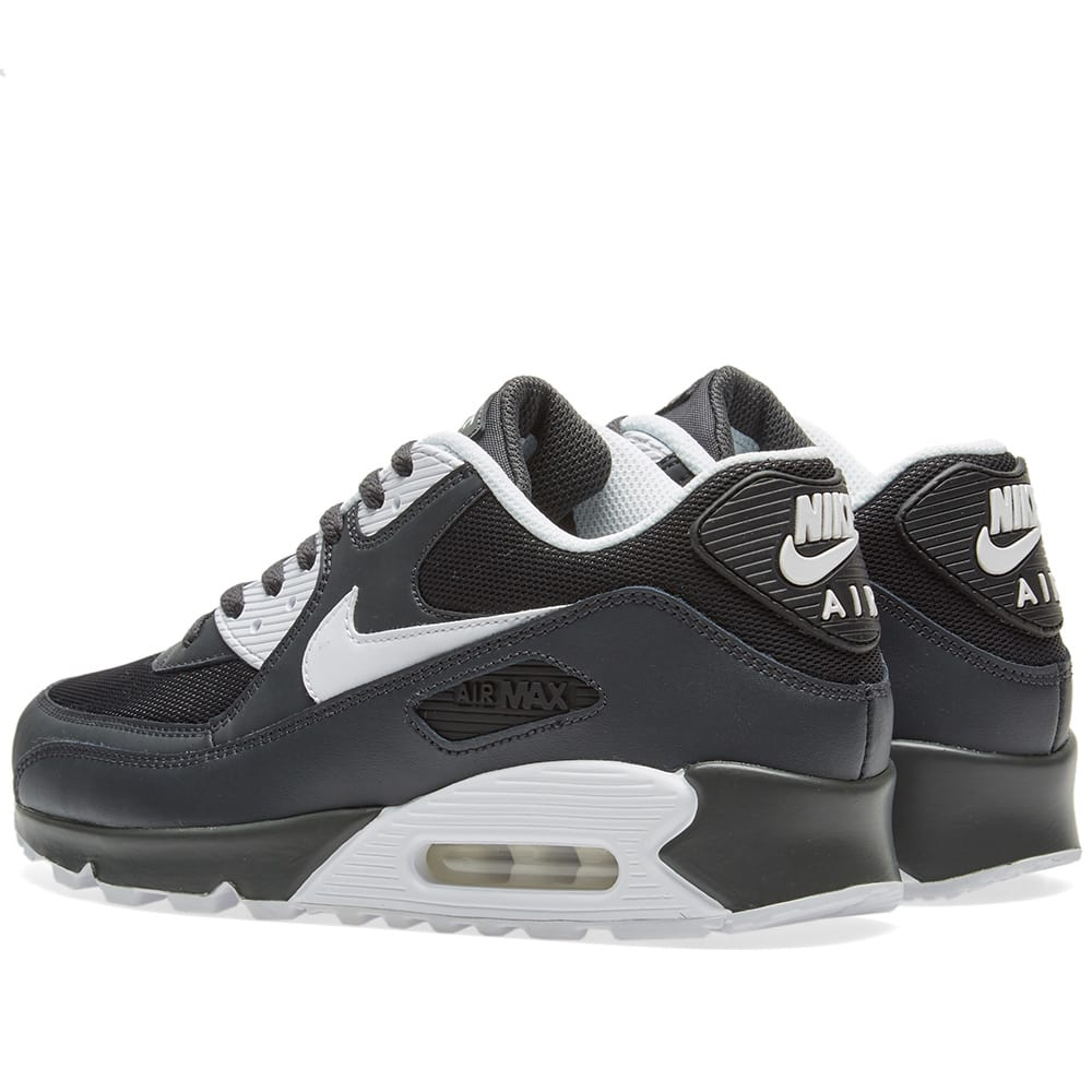size 40 f7c7c 8acd9 Nike Air Max 90 Essential Anthracite, White   Black   END.