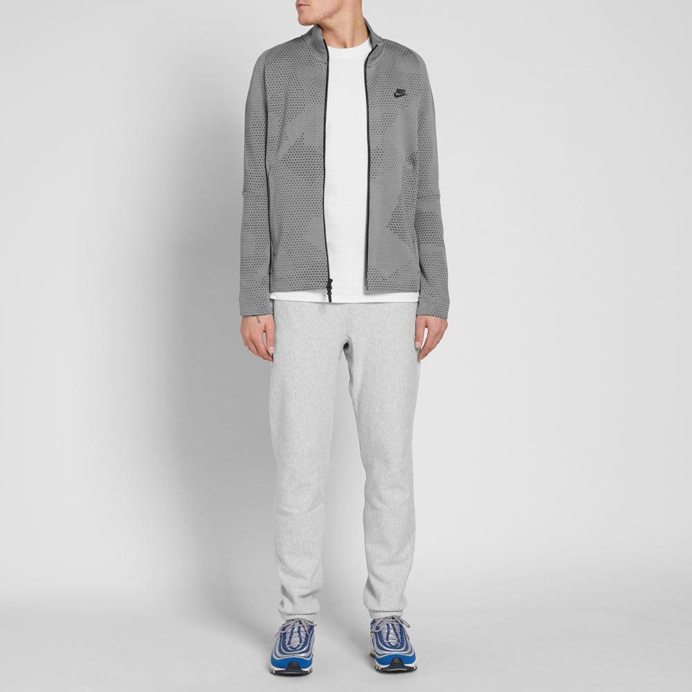 65cdf295f3f2 Nike Tech Fleece Jacket GX 1.0 Dark Stucco   Black
