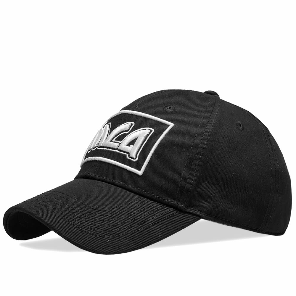 1894e5665b31ea McQ Alexander McQueen Baseball Cap Black   White