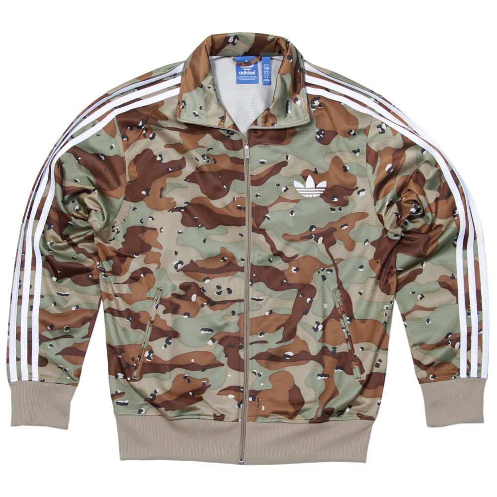 Xl. Men's Clothing Tracksuits & Sets Adidas Originals Firebird Bliss Camo Track Top Size