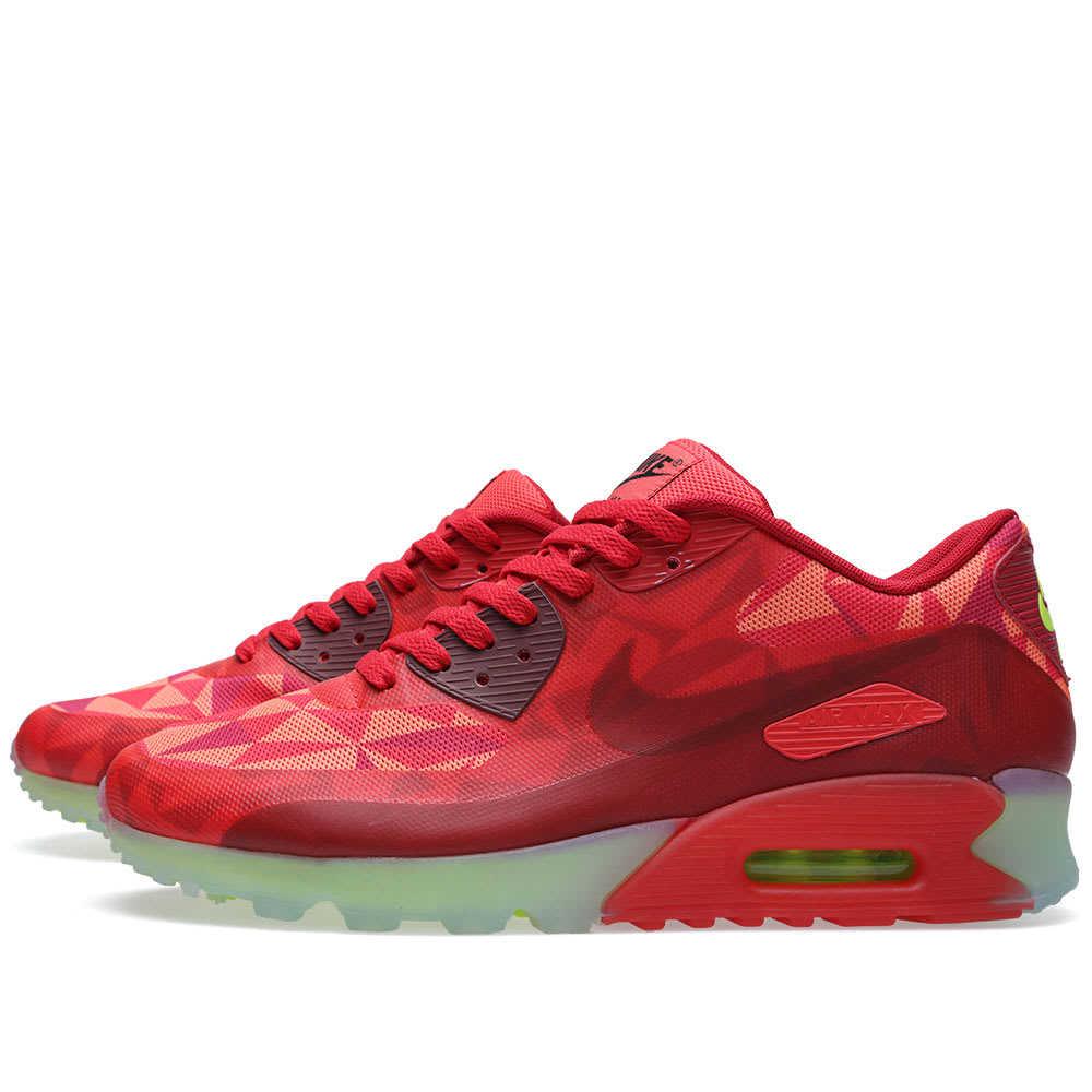 info for f860f 03c9a Nike Air Max 90 Ice Gym Red   University Red   END.