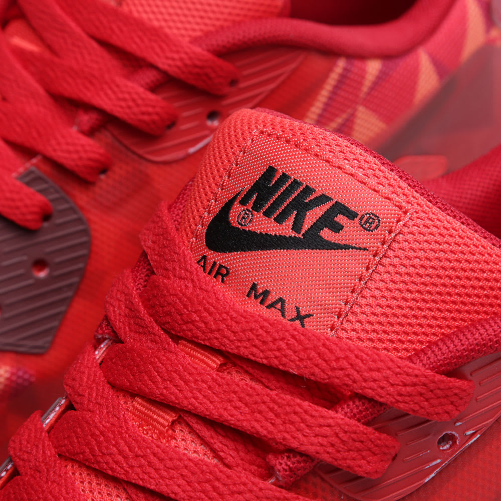 07d96bcaa2 Nike Air Max 90 Ice Gym Red & University Red | END.