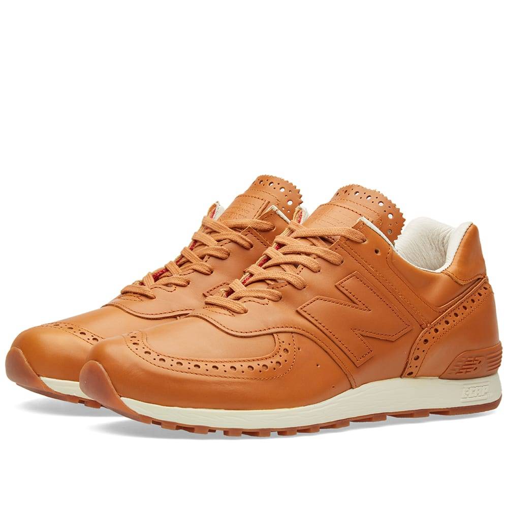check out 68f89 aa539 New Balance x Grenson M576GRB Tan   END.