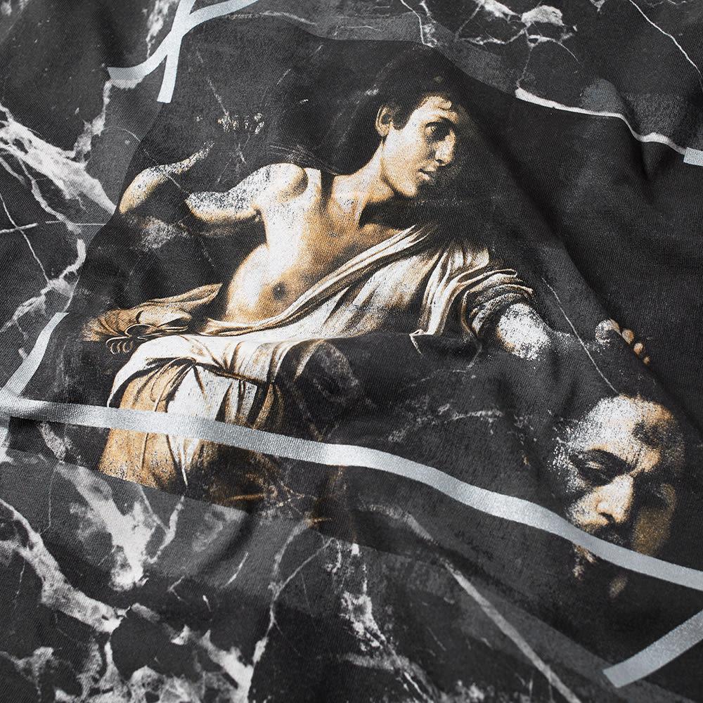 Off White Marble : Off white marble tee black