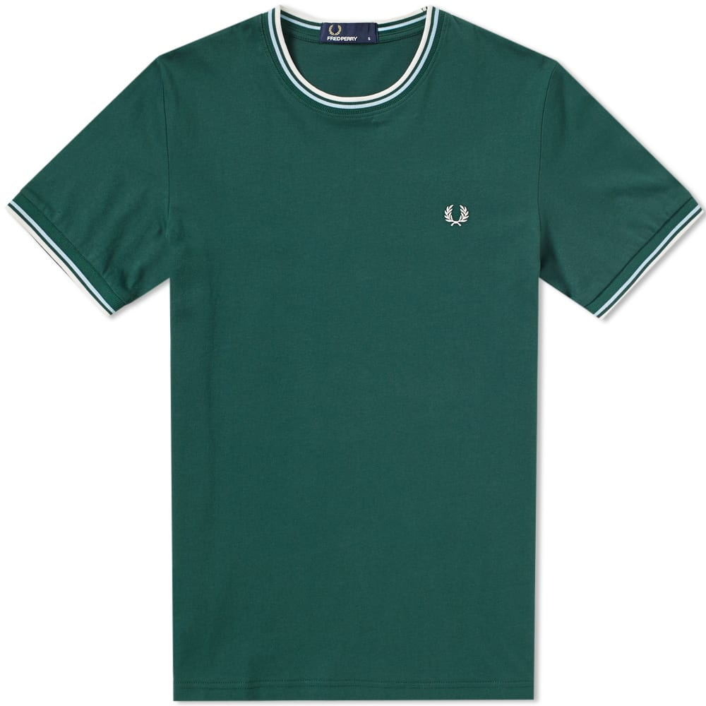 Fred Perry  FRED PERRY TWIN TIPPED TEE