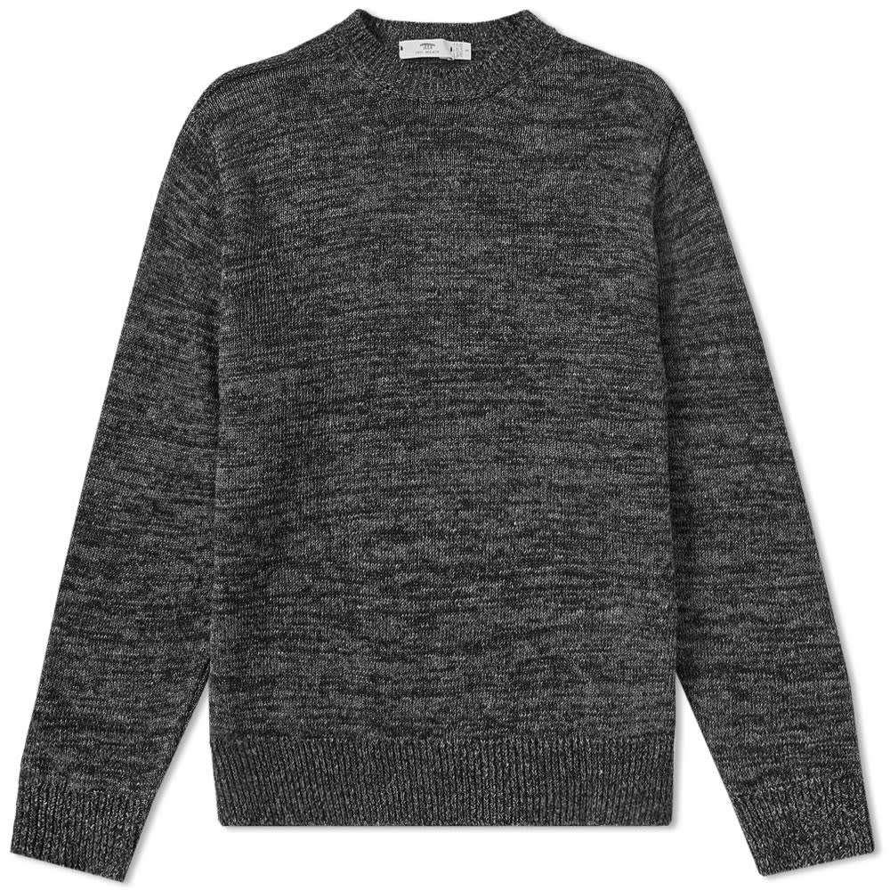 INIS MEAIN INIS MEÁIN DONEGAL LINEN CREW KNIT