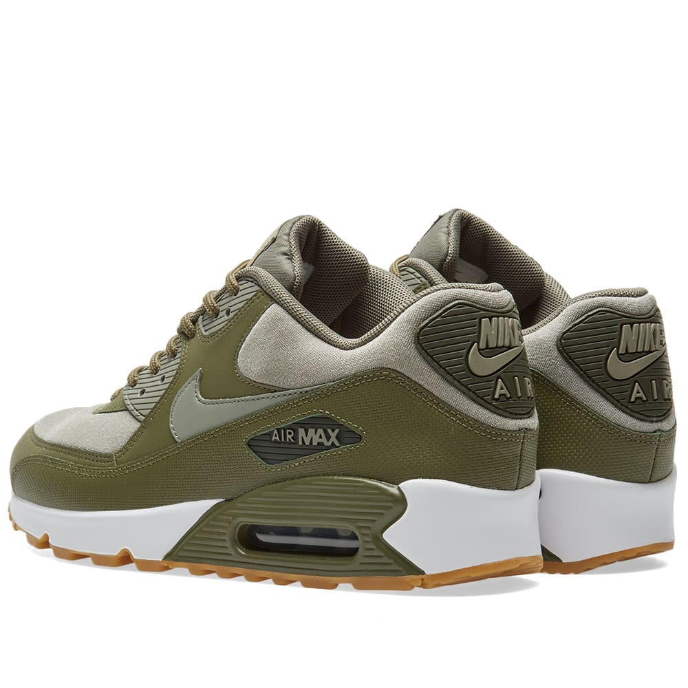 low priced 8d696 29db4 Nike Air Max 90 W Olive, Stucco   Sequoia   END.