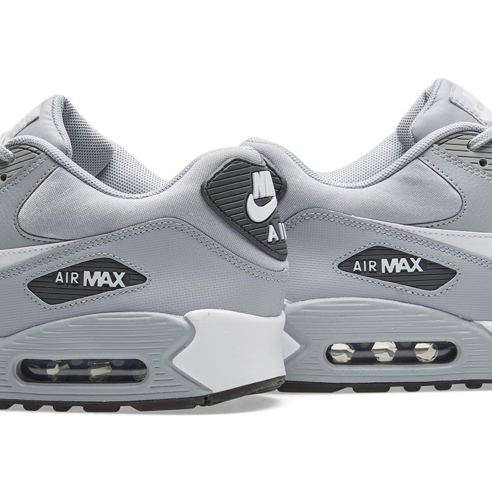 new style 09b4c 38558 Nike Air Max 90 W Wolf Grey, White   Black   END.