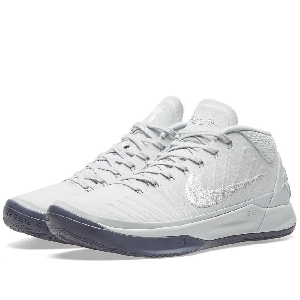 buy popular ed53a 20639 Nike Kobe A.D. 1 Platinum, White   Silver   END.