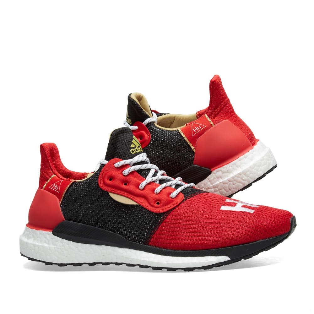 53d555a36 Adidas x Pharrell Williams Solar HU Scarlet
