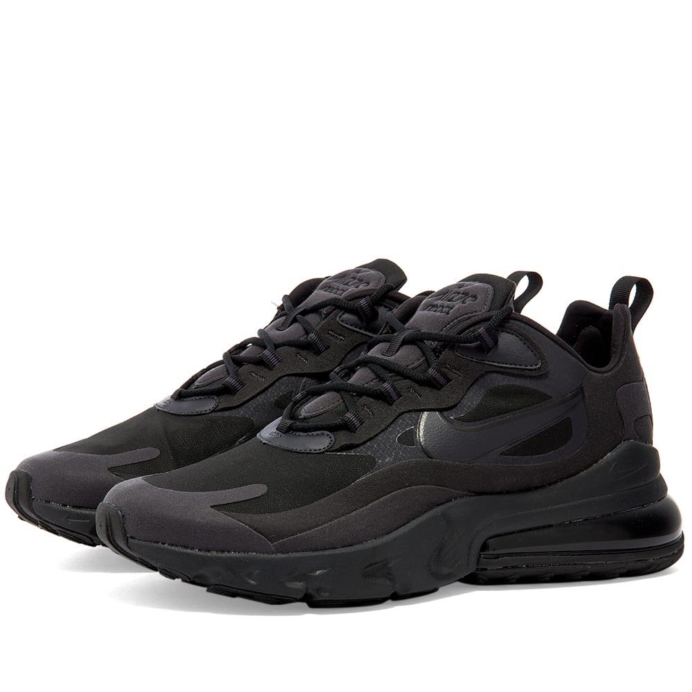 air max 270 react black grey