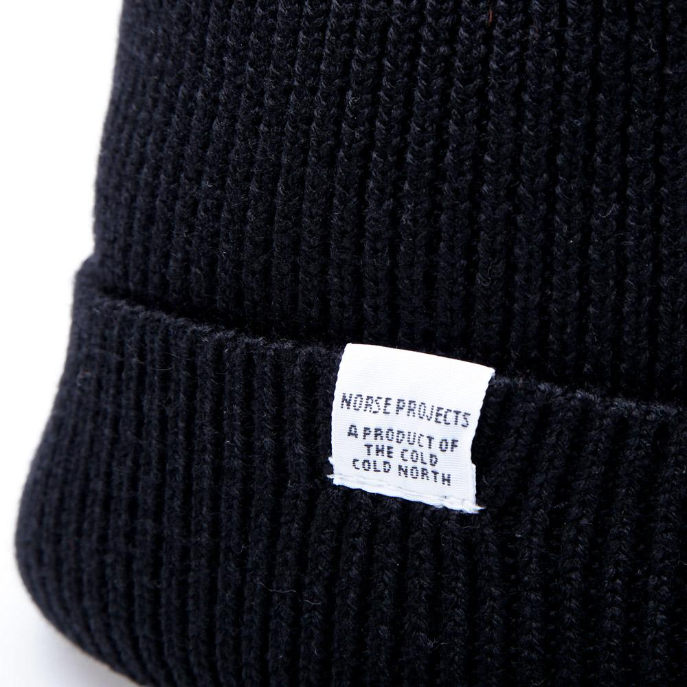 f363afdf23c27 Norse Projects Watch Beanie Black