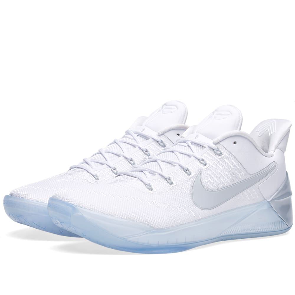 low priced be6ab e355c Nike Kobe AD White   Chrome   END.
