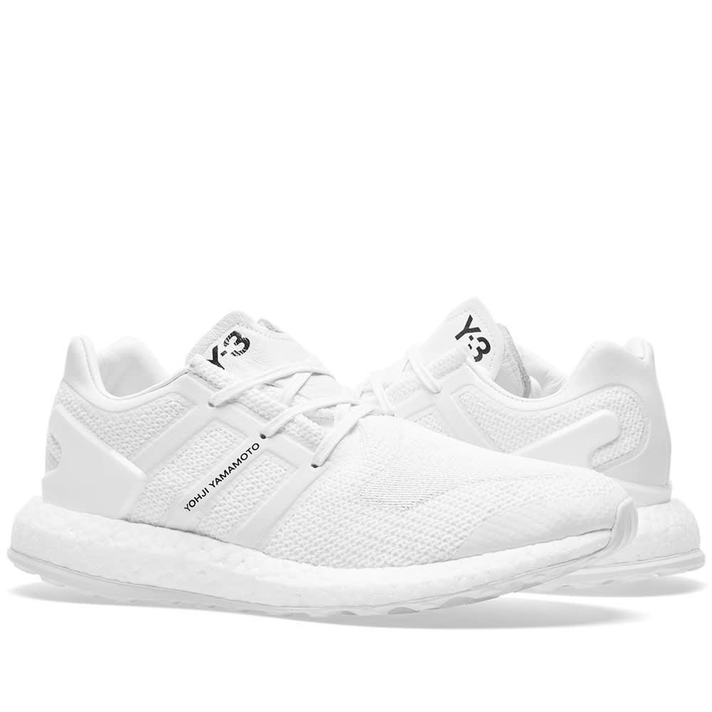 7cc9e3fcd Y-3 Pure Boost White   Crystal White