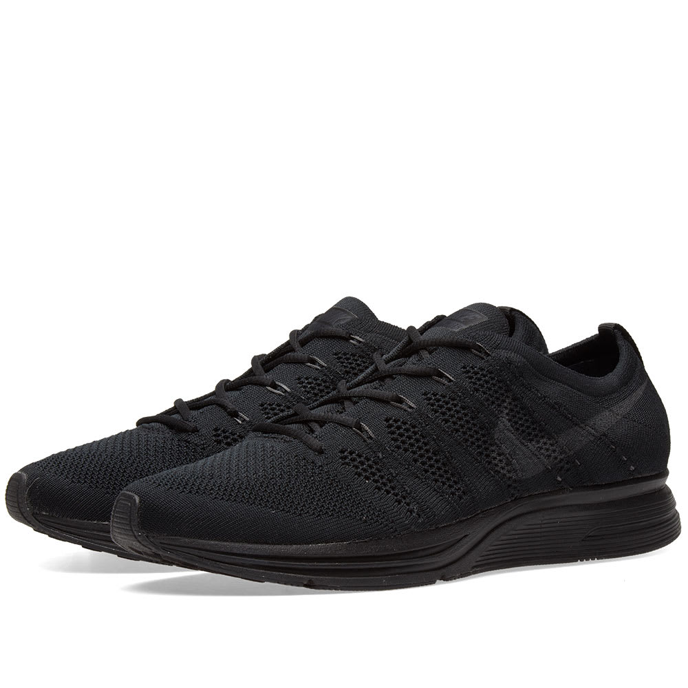 cd6ada2daad62 Nike Flyknit Trainer Black   Anthracite