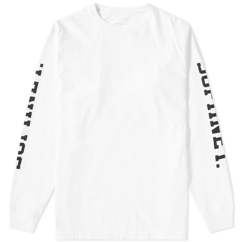 SOPHNET. Sophnet. Long Sleeve College Tee in White