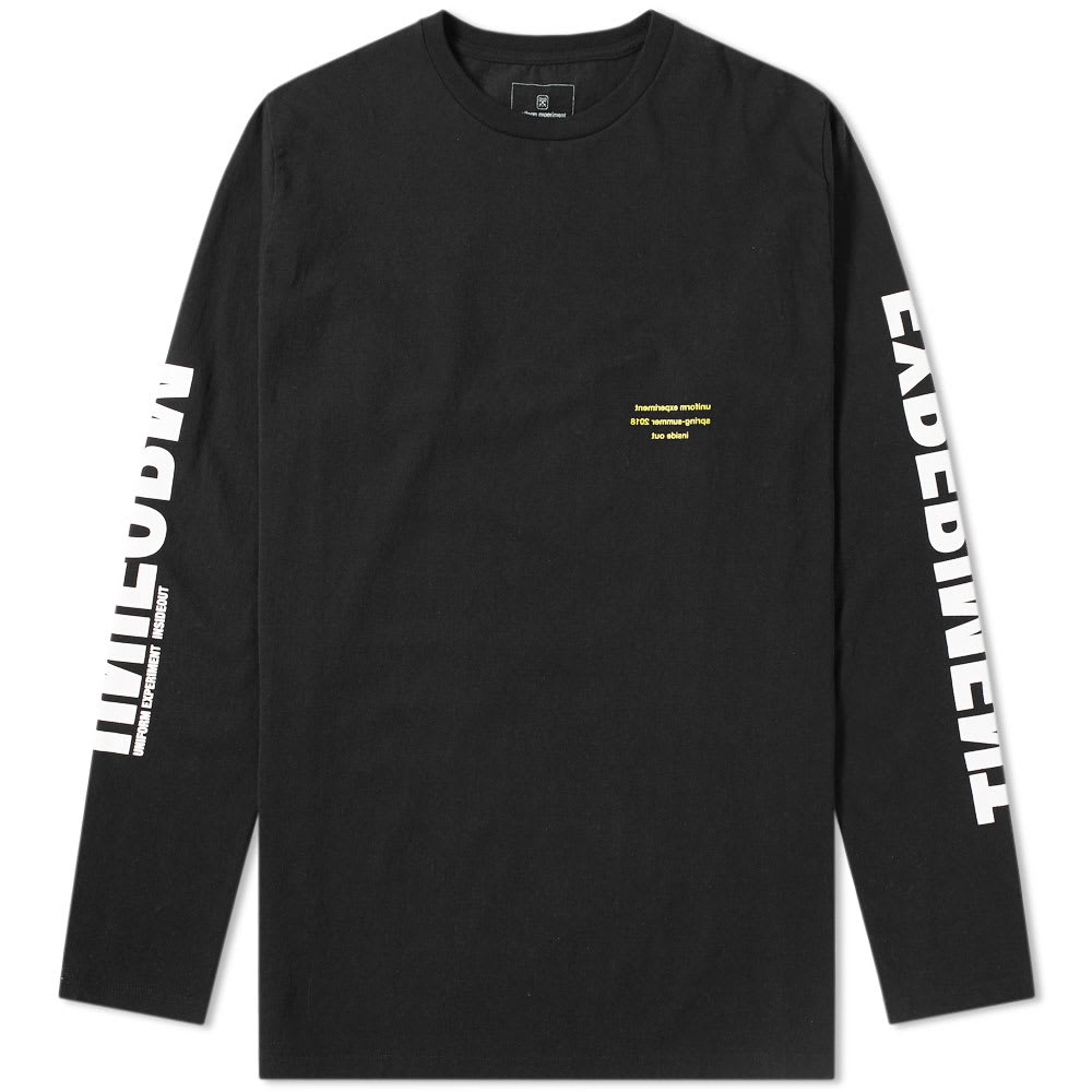 UNIFORM EXPERIMENT LONG SLEEVE BIG TEE
