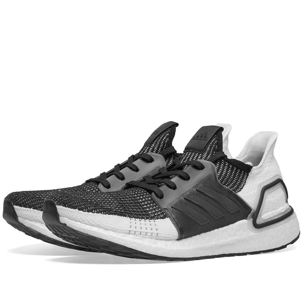 d5c1f729b Adidas Ultra Boost 19 W Core Black   Grey