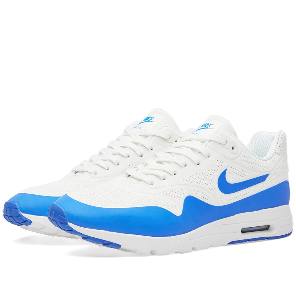 a2d60f3341 Nike W Air Max 1 Ultra Moire Summit White & Racer Blue   END.
