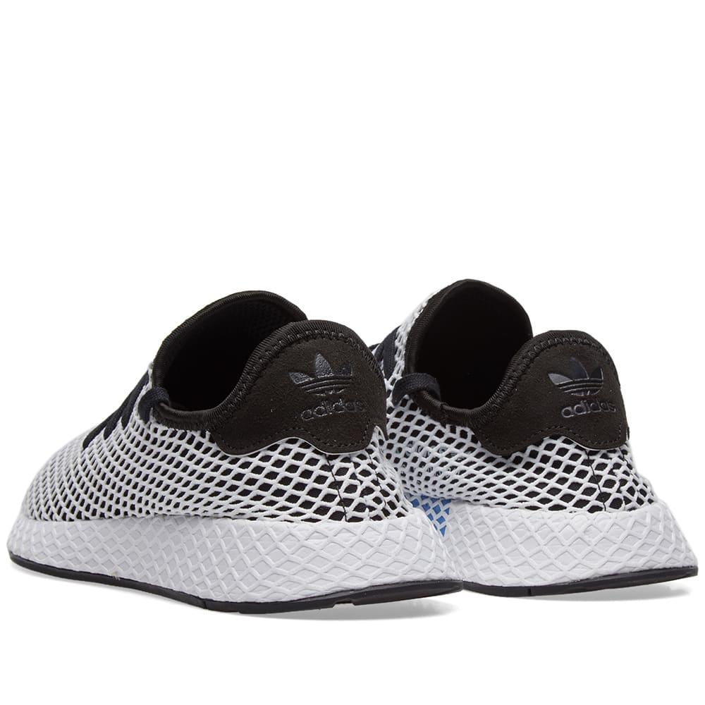 a6b05ec1dee8b Adidas Deerupt Runner Black   White