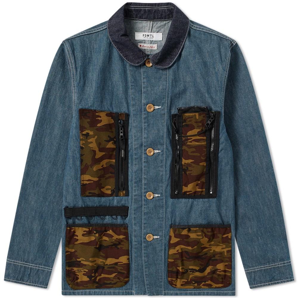 FDMTL Fdmtl Mspc Coverall Jacket in Blue