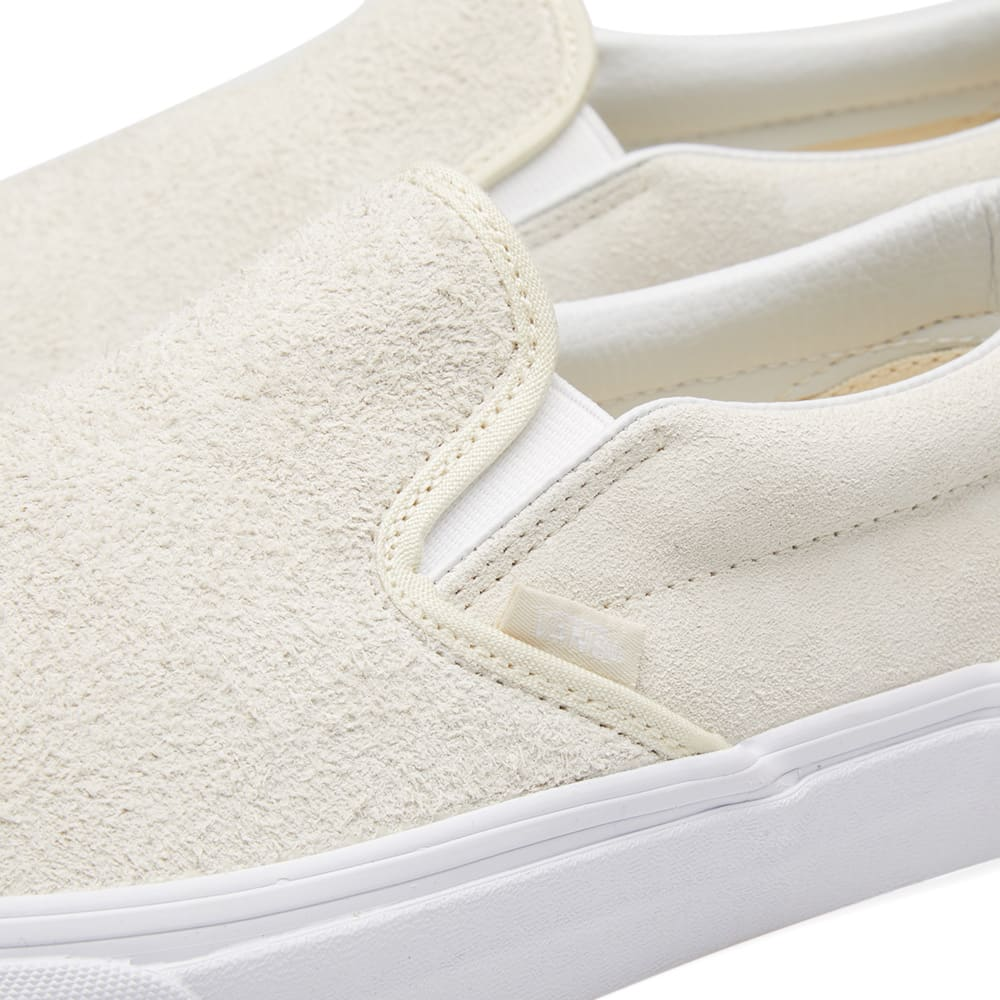 cd08035ef2 Vans Classic Slip On Hairy Suede Turtledove