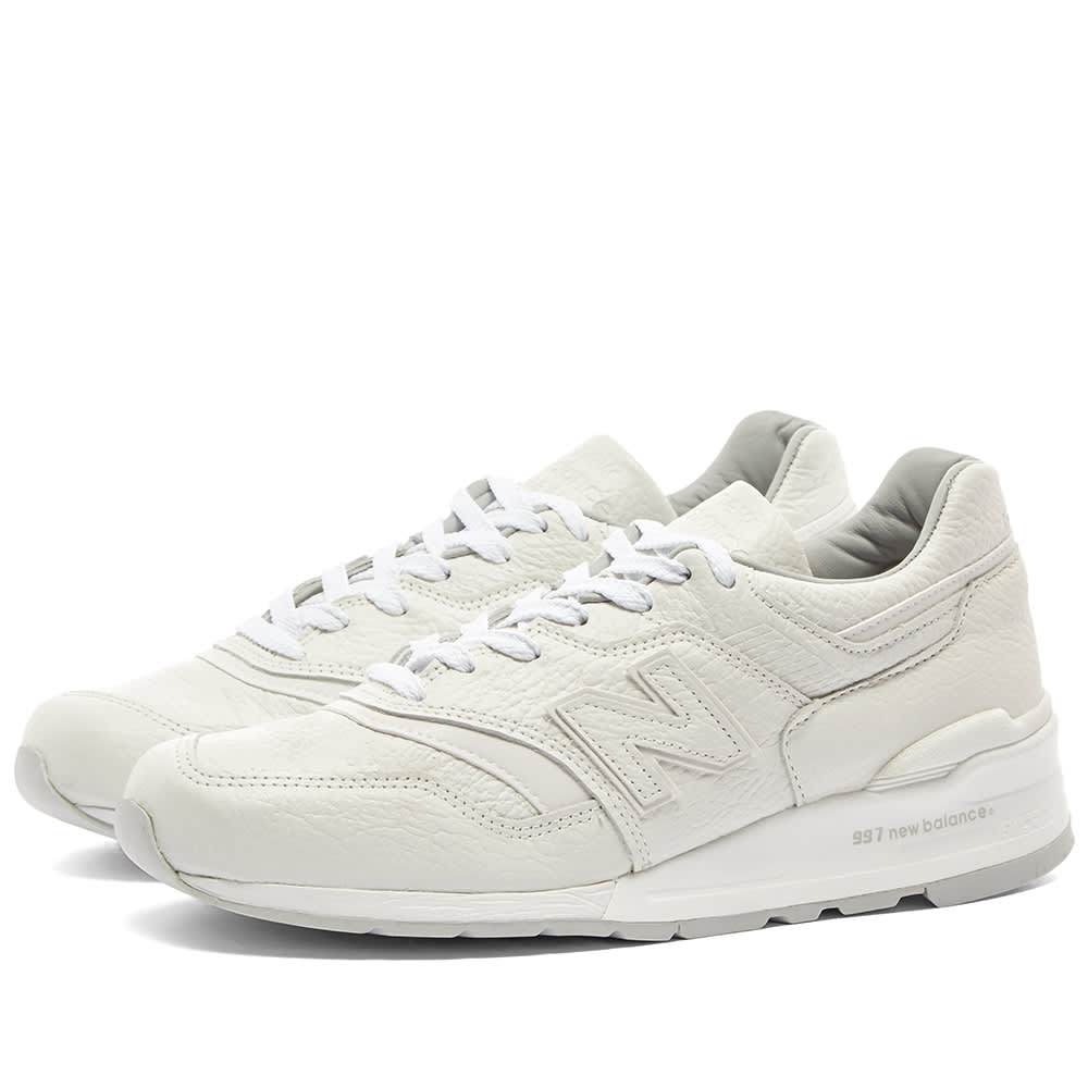07f164c3d New Balance M997BSN  Bison Leather  - Made in the USA White
